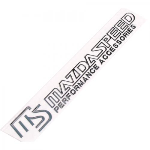mazdaspeed emblem. badge mazda speed motorsports sticker mazdaspeed emblem