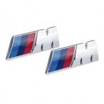 BMW - M LOGO CAR STICKERS UNIVERSAL