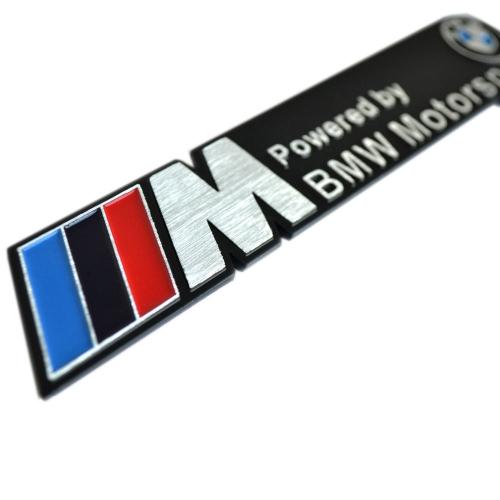 bmw m emblem car badge sticker decal v spec auto. Black Bedroom Furniture Sets. Home Design Ideas