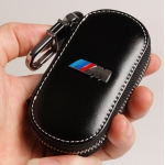 BMW - M REAL LEATHER CAR KEY CASE (BLACK)
