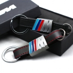 BMW - M-POWER LOGO LEATHER KEYRING