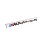 BMW - M PERFORMANCE CAR DOOR STICKER(SILVER)