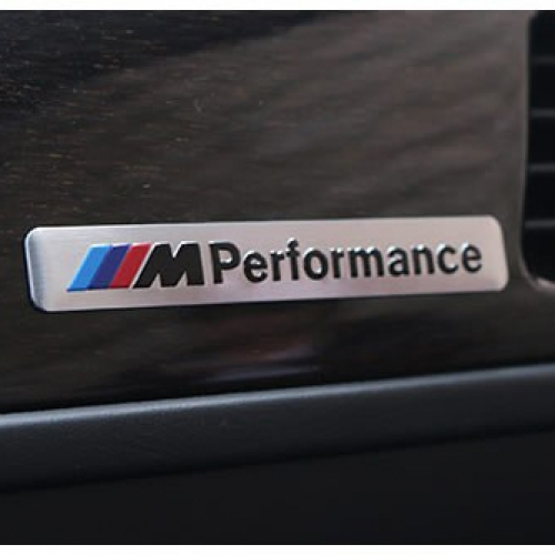 bmw m performance car door sticker silver v spec auto accessories online store new york. Black Bedroom Furniture Sets. Home Design Ideas