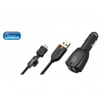 CAPDASE - DUAL USB CAR CHARGER CABLE FOR HTC BLACKBERRY