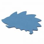 CARMATE - CAR DASH NON SLIP SHEET PAD HEDGEHOG BLUE