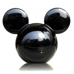 CARMATE - DISNEY MICKEY BIG HEAD BLACK (LEMON)