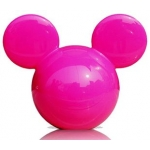 CARMATE - DISNEY MICKEY BIG HEAD PINK (PEACH)