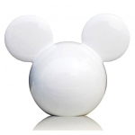 CARMATE - DISNEY MICKEY BIG HEAD WHITE (ORANGE)