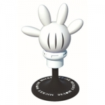 CARMATE - DISNEY MICKEY HAND WHITE (ORANGE)