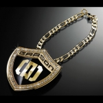 DAD GARSON - CRYSTAL CLIP CHAIN TYPE KAISER (GOLD)