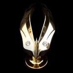 DAD GARSON - EMBLEM CRYSTAL FLY GOLD