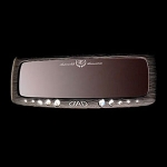 DAD GARSON - LUXURY WIDE REAR MIRROR BLACK (270MM)