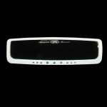DAD GARSON - LUXURY WIDE REAR MIRROR WHITE (270MM)