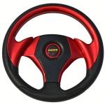 MOMO - UNIVERSAL PU AUTO STEERING WHEEL RED