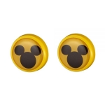 NAPOLEX - MICKEY MOUSE LICENSE PLATE DECORATION DEEP YELLOW