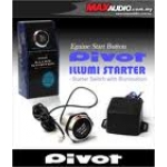 PIVOT - ILLUMI ENGINE STARTER SWITCH (BLUE)