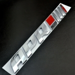 PORSCHE - 3D AUTO CAR APR STAGE III+ EMBLEM TAIL SIDE FENDER STICKER BADGE
