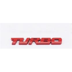 PORSCHE - 3D METAL TURBO EMBLEM BADGE LOGO CAR STYLING REAR TRUNK STICKER