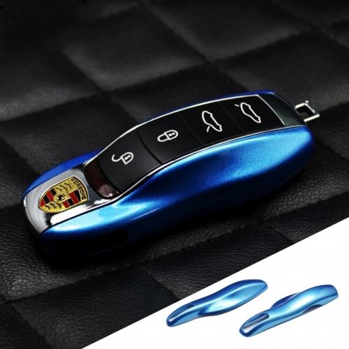 PORSCHE - REMOTE KEY CASE COVER(BLUE) | V-Spec Auto Accessories ...