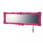 CARMATE - LARGE SIZE FLAT REAR VIEW MIIRROR (PINK)